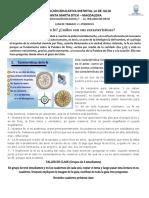 GUIA DE TRABAJO - CARACTERISTICAS DE LA FE - RELIG 7°