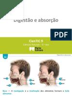 Ctic9 E3 Digestão e Absorção