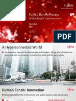 Fujitsu RunMyProcess - Driving Transformation Keynote Presentation