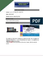 NOTA TECNICA   TOYOTA COROLLA VERSO AVENSIS - DTC C1208