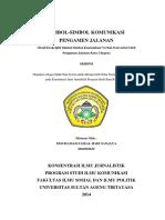 Simbol - Simbol Komunikasi Pengamen Jalanan Full text (Mochammad Faizal Hadi Sanjaya) FISIP UNTIRTA - Copy