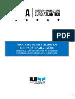 PROGRAMA MESTRADO EDUCACAO PARA SAUDE IUEA UNIMINDELO CV.docx
