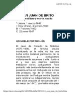 SAN JUAN DE BRITO