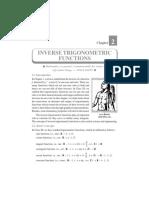 02. Inverse Trigonometric Functions