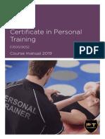 Level 3 Cert PT course manual 2019-unlocked