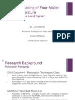 GradingFourMalletMarimbaLiterature.pdf
