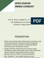 ETIK&HUKUM INFORMED CONSENT