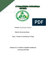 Enforme sobre los transitores controlada por voltaje