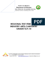 TEST ITEM BANK COVER