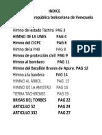 Himnos De Venezuela.docx