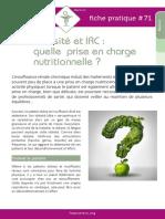 obésité et-irc-quelle-prise-en-charge-nutritionnelle
