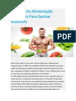 12 Dicas De Alimentação Imbatíveis Para Ganhar Músculos