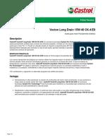 VECTON LONG DRAIN 15W-40 CK-4 E9