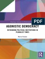 Autor desconocido - Agonistic Democracy