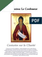 Centuries sur la Charité - Saint Maxime Le Confesseur