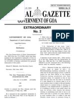 Goa Preservation of Trees Amendment) Act 2008