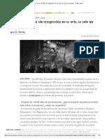 Ana Curra_ _El arte sin trasgresión no es arte, es solo un producto_ - Cultur Plaza.pdf