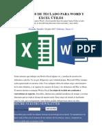 100 ATAJOS DE TECLADO PARA WORD Y EXCEL ÚTILES.pdf