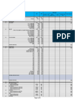Sample Bill of Quantities