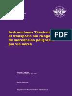 Doc 9284 Suplemento - Instrucciones técnicas para el transporte sin riesgos de mercancías peligrosas por vía aérea.pdf