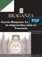Patricia Olivares Taylhardat - Joyería Braganza, La Vitrina de La Relojería Fina Suiza en Venezuela