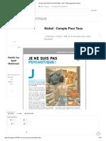 JE NE SUIS PAS PSYCHOTIQUE! - PDF Téléchargement Gratuit