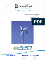 Kestrel e220i User Manual