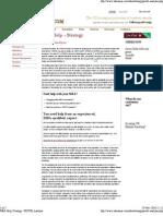 MBA Help _ Strategy - PESTE Analysis