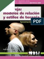 La pareja_ modelos de relación y estilos de terapia - José Antonio Ríos González