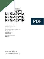 Plasma Sony PFM42V1