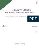 Community Clouds