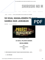 50 SOAL MANAJEMEN PILIHAN GANDA DAN JAWABAN _ Shirushi no Miracle.pdf