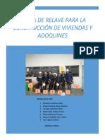 informe de la fabicacion de adoquines con relave minero