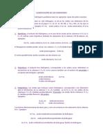 CLASIFICACIÓN DE LOS OXOÁCIDOS