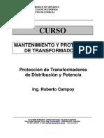 Protección de transformadores de distribución y de potencia