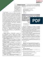 Aprueban el Reglamento del Régimen de Reprogramación de Pago de Aportes Previsionales a los Fondos de Pensiones del Sistema Privado de Administración de Fondos de Pensiones adeudados por las Entidades Públicas (REPRO AFP II)