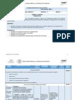 POO2 Planeación Didáctica 2020-1