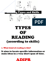 R&W - PPT No. 0 - Basic Reading Skills and Types of Reading