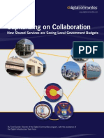 Capitalizing on Collaboration How Shared Services are Saving Local Government Budgets