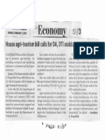 Business World, Feb. 3, 2020, House agri-tourism bill calls for DA, DTI assistance to farmers.pdf