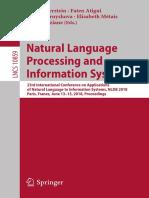 (Lecture Notes in Computer Science 10859) Max Silberztein, Faten Atigui, Elena Kornyshova, Elisabeth Métais, Farid Meziane - Natural Language Processing and Information Systems-Springer International .pdf