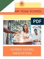 Guided Sacral Meditation