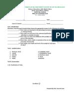Prelim Exam Values.docx