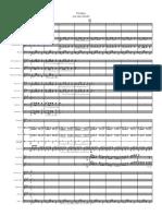 Румба для двух флейт с оркестром- Full Score