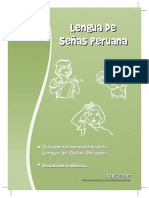 FONOLOGIA DE LA LENGUA DE SEÑAS PERUANA