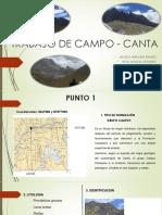 TRABAJO DE CAMPO - CANTA