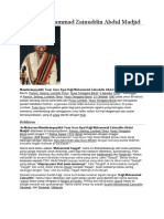 Biografi Muhammad Zainuddin Abdul Madjid.docx