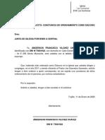 DIACONO ORDENADO