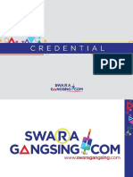 Credential PT. Swara Gangsing