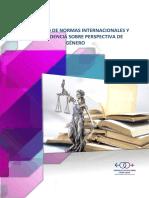 COMPENDIO DE NORMAS INTERNACIONALES Y JURISPRUDENCIA SOBRE PERSPECTIVA DE GÉNERO
